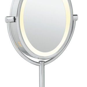 Conair Bath - Conair Double-Sided Lighted Vanity Mirror 1X/7X